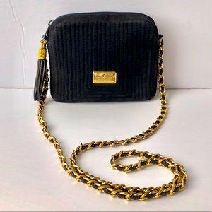 Vintage DUE FRATELLI quilted shoulder bag EUC